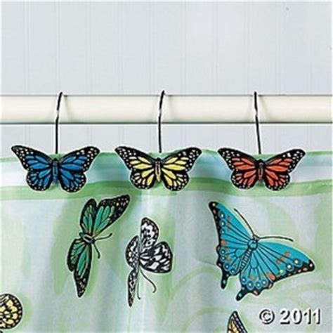 Butterfly Bathroom Rug Butterfly Bathroom Complete Bathroom Shower Curtain Rugs Hooks Mat Set New Ebay