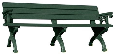 plastic bench legs american recycled plastic inc recycled plastic arlington