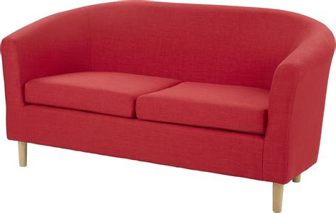curved two seater sofa new classic woven fabric curved deep seat 2 seater compact