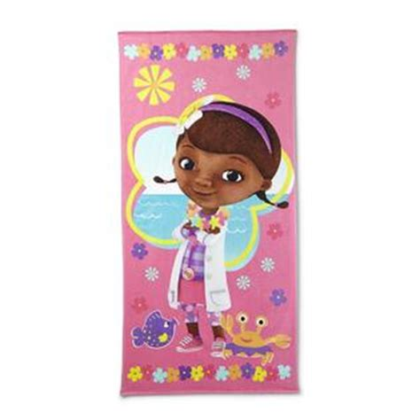 doc mcstuffins rug disney s towel doc mcstuffins home bed bath bath bath towels rugs
