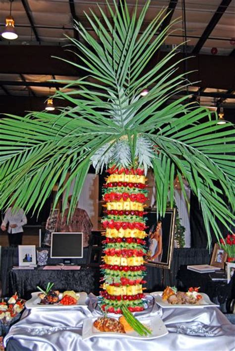 pineapple fruit tree stand capital city catering menu page