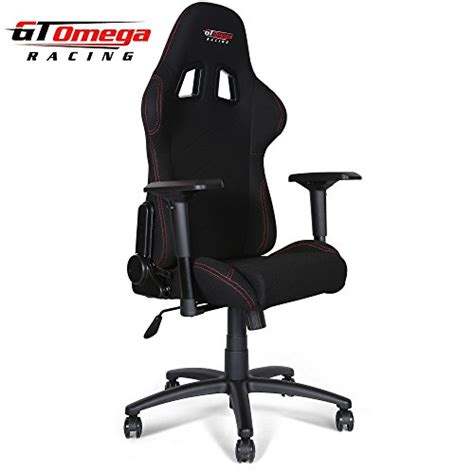 Furniture Gt Office Furniture Gt Gt Omega Pro Racing Office Chair Black Fabric Gaming Chair Reviews And Ratings