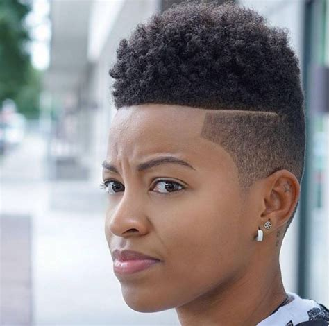 Fade Haircuts For Black Women | 6 fade haircuts for women by step the barber