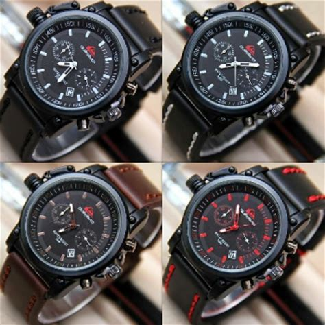 Jam Tangan Quicksilver Jam Pria Naviforce Swiss Army Expedition Gc 1 jual jam tangan quiksilver chrono tali kulit qs6621 jam