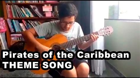theme song pirates of the caribbean pirates of the caribbean theme song l fingerstyle youtube