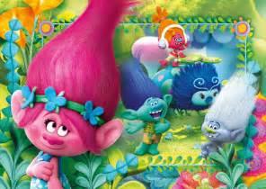 Disney Frozen Wall Stickers pzl 104 2 trolls clementoni
