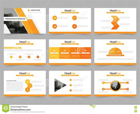 Powerpoint Presentation Template Background Vector Illustration Cartoondealer Com 82901684 Set Powerpoint Template