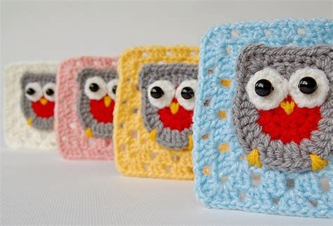 Owl Square by Dada S Place Crochet