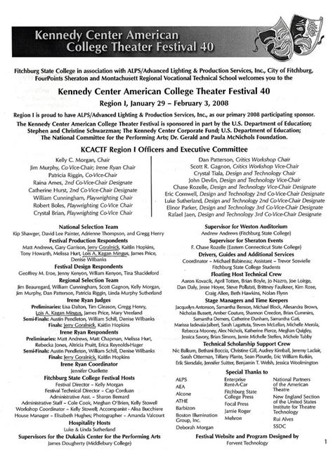 Roanoke College Letter Of Recommendation the living theatre workshops kennedy center