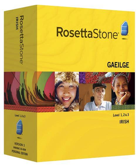 rosetta stone for spanish learning to speak irish with rosetta stone irish