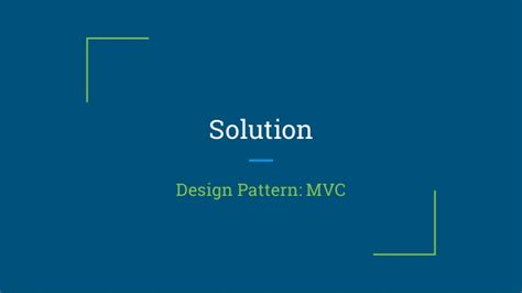 design pattern used in android architectural design pattern android