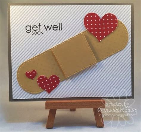 Chelsea Creative 2 chelsea s creative corner ouch get well card