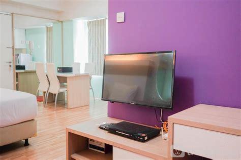 sewa green bay pluit spacious studio apartment  green