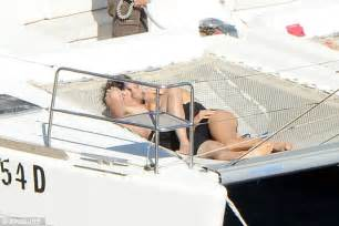 making boat legs nikki reed cosies up with husband ian somerhalder on