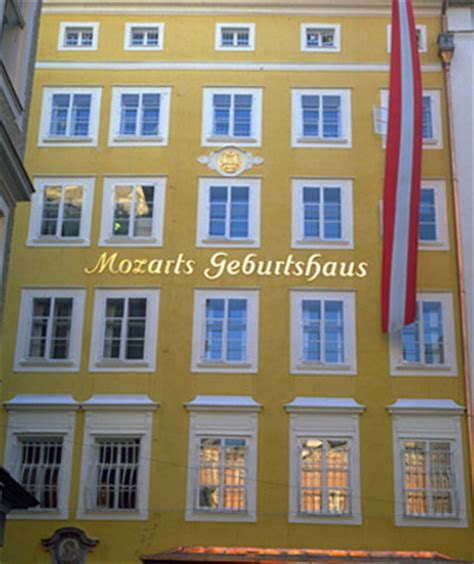 casa natale di mozart salisburgo chebelloviaggiare