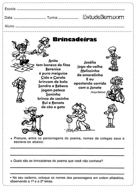 Atividades de português para o 4° ano do 1º ciclo (Parte 2