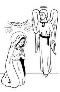 Immaculate Conception Of Mary Coloring Coloring Pages