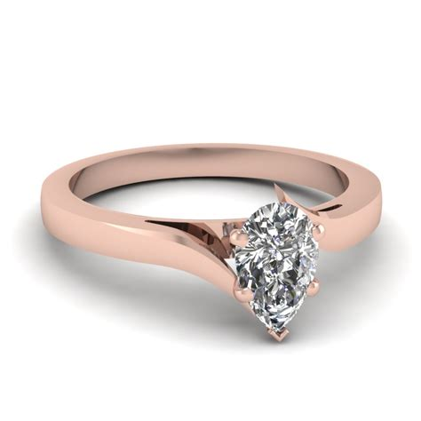 simple engagement ring fascinating diamonds