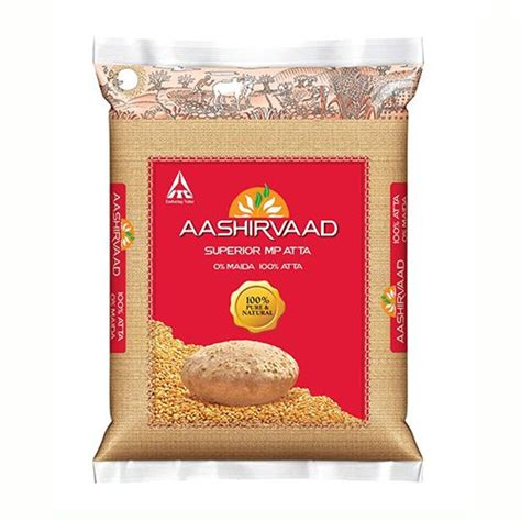 Icha Top Atta 1 aashirvaad atta whole wheat 5 kg pouch buy at