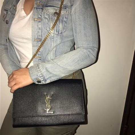 yves saint laurent handbags monogram kate large