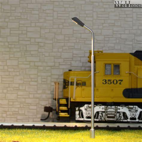 ho scale l posts 10 x oo ho scale model railroad train l posts led