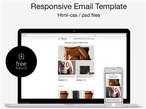 20 best responsive email templates of 2015 graffies