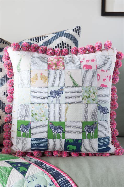 Patchwork Pillows - patchwork pillow tutorial weallsew
