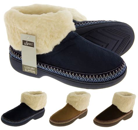 slipper boots with sole new warm lined outdoor sole slipper boots slippers