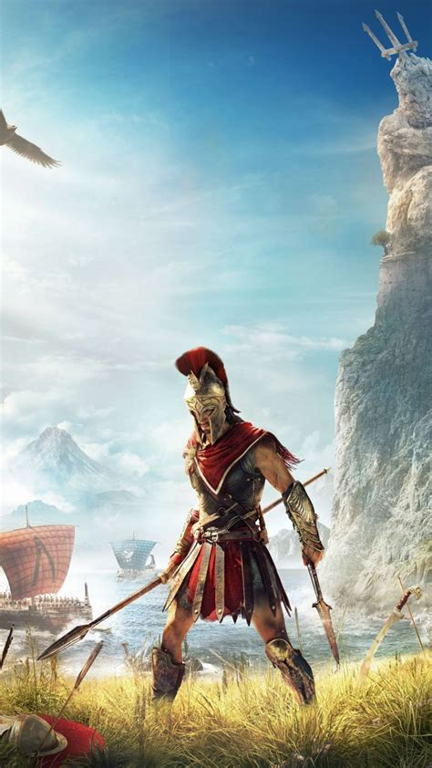 assassins creed odyssey video game warrior