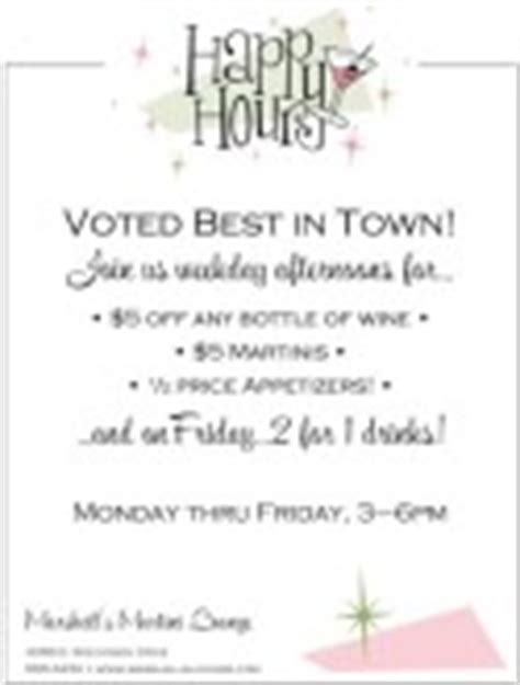 happy hour menu templates and designs musthavemenus