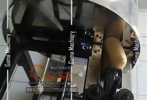 Alat Pemotong Keripik Modern mesin perajang kerupuk lontongan toko mesin gama sakti