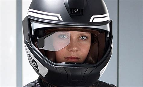 Motorradhelm Bmw by Bmw Introduces Hud Helmet Concept Motorcycle News