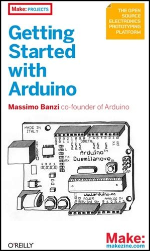 Arduino Cookbook getting started with arduino book giveaway make