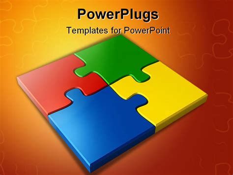 Best Photos Of Jigsaw Puzzle Powerpoint Template Free Free Puzzle Powerpoint Template