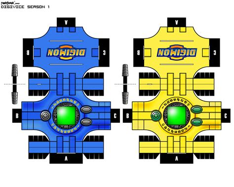 Digimon Digivice Papercraft - digivice matt tk by randyfivesix on deviantart