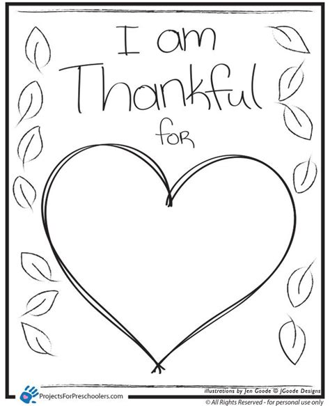 heart coloring pages preschool i am thankful heart coloring page preschool activities