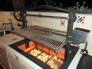 Handmade Barbecue Grills - 1920 s themed villa santa bbq leasure concepts