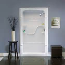 mirolin 48 inch 1 acrylic shower stall no