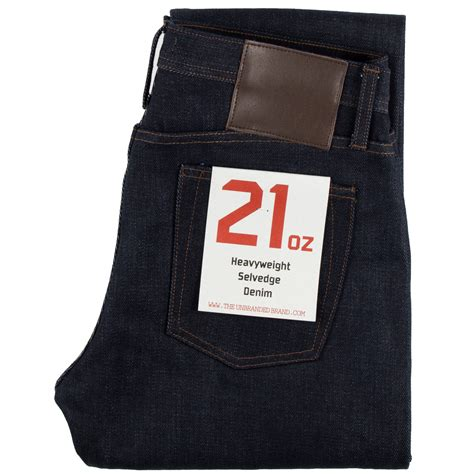 The Unbranded Brand Ub221 21oz Indigo Selvedge Tapered Fit ub221 tapered fit 21oz indigo selvedge denim the unbranded brand