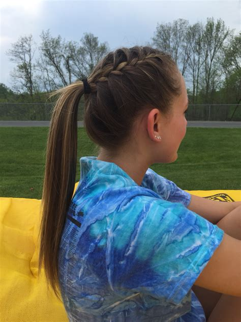 how to style hair for track and field track runner hair hair styles pinterest runners