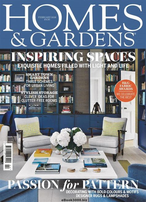 homes gardens uk february    magazine