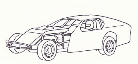 blank coloring pages cars blank coloring pages dirt roads modified race car grig3 org