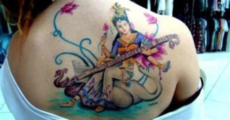 saraswati tattoo designs saraswati by deboraarantes this