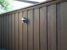 fence stain colors fence staining quot hawthorne quot