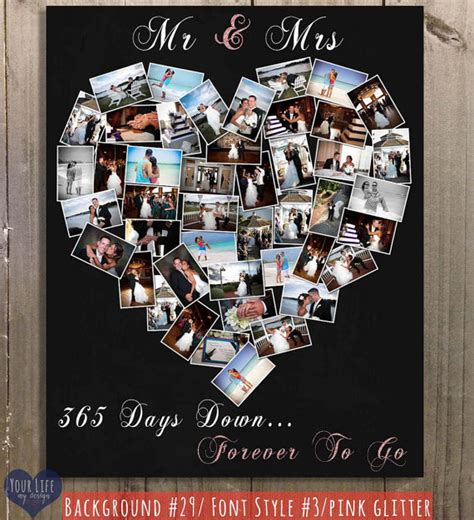 Wedding Anniversary Collage Ideas by Anniversary Gift Anniversary Photo By Yourlifemydesign