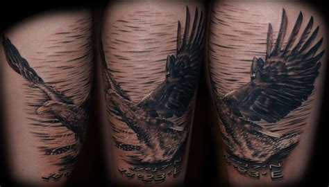 Eagle Tattoo Thigh | eagle thigh tattoo by electriclinda on deviantart