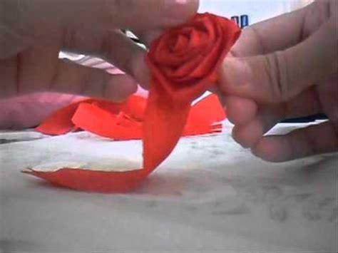How To Make Crepe Paper Rosettes - crepe paper flower rosette m4v beautiful flowers
