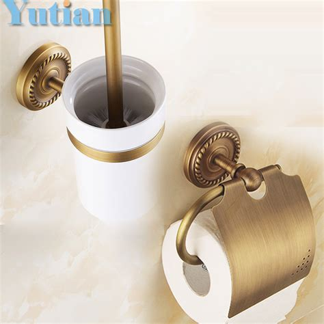 Free Shipping Solid Brass Bathroom Accessories Set Paper Solid Brass Bathroom Accessories