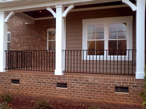 Iron Porch Railing Safety Iron Porch Railing Railing Stairs And Kitchen