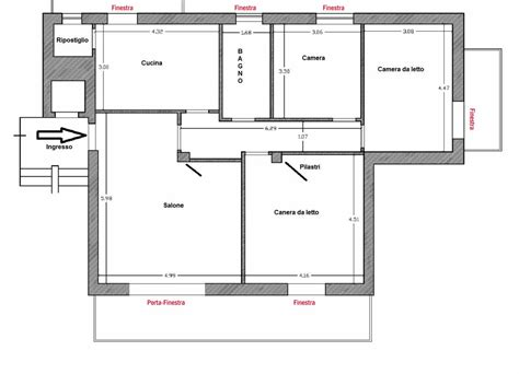 pianta della casa serramenti in pvc di qualit 224 dai pi 249 valore alla tua casa